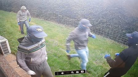 Do you recognise these men? Police want to speak to them in connection with a burglary in Ramsey For