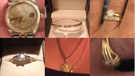 Jewellery, including a Rolex watch, £10,000 cash and a Beretta shotgun was stolen. PICTURE: Cambs