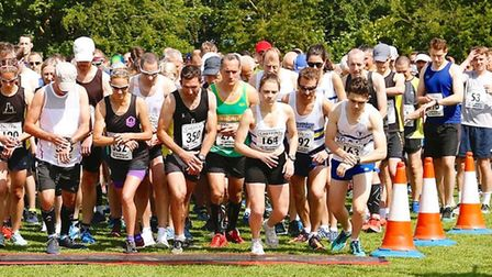 Runners at the Sutton Beast start line in 2019. Picture: IAN STACEY