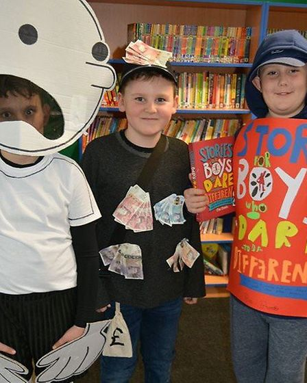 Children and staff from The Shade Primary School in Soham donned their best outfits as part of World