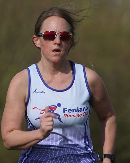 Fenland Running Club in action. Pictures: FENLAND RUNNING CLUB