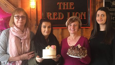 Coffee morning organised at The Red Lion pub for Isla McNulty