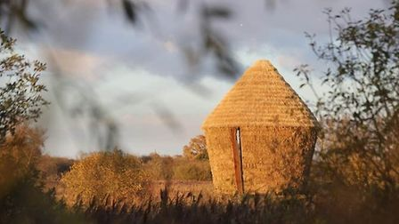 New artwork has been constructed at the National Trust's Wicken Fen Nature Reserve. Picture: NATIONA