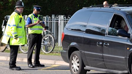 Illegal parking in Fenland could be tackled by PCSOs, say Fenland District Council. Officers picture