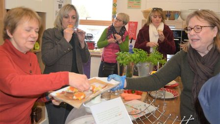 Community kitchen to cook up a storm at Re-imagine in Witchford. Picture: MIKE ROUSE