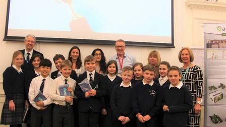 Cambridgeshire Educational Partnership brings second innovation day to King's Ely. Picture: JORDAN D