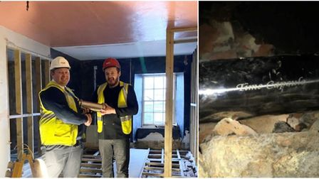 A time capsule has been buried in a secret spot during Ely Museum's £1.66 million renovation - inclu