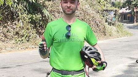 Sean Barrs cycled over 200 miles through the Kerala region of India alongside riders from around the