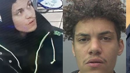 Burglar Isaac Barry targeted two houses and a chip shop but was caught on CCTV wearing a jacket he h