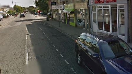 A pedestrian suffered head injuries after a collision involving a van outside Lloyds TSB bank on Che