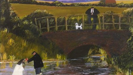 British artist Gary Bunt will showcase a range of paintings at his new exhibition at Ely Cathedral n