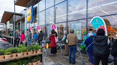 Forty jobs have been created in Cambridgeshire after the launch of a new Lidl store. Picture: Suppli