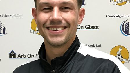 March Town midfielder Eoin McQuaid scored twice in the 7-3 win over Leiston Reserves in Thurlow Nunn