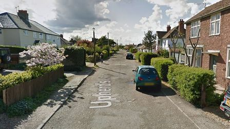 A car was reportedly set alight by arsonists on Upherds Lane in Ely on February 24 at 4am. Picture: