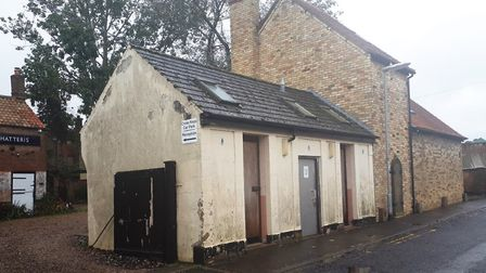 Disused toilet block in Chatteris sold at auction for £17,000. Picture: FENLAND DISTRICT COUNCIL