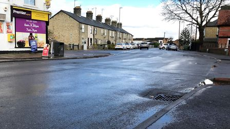 The location of the zebra crossing on St Peter's Road, March, which was approved by Cambridgeshire C