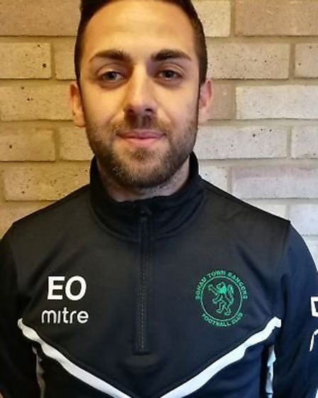 Soham Town Rangers assistant manager, Erkan Okay has also been hit with an FA suspension. Picture: S