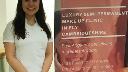 Laura Marshall, founder of Eternal Beauty Company in Ely, has been nominated for a national tattooin
