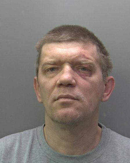 Andriejus Kostiajevas (pictured) has been jailed for a minimum of 28 years after killing his wife Li