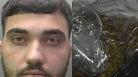 Drug dealer Ahmed Ahmadzai failed to appear at court for a year but was found hiding in a Whittlesey