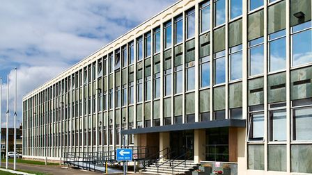 Peterborough campus of Anglia Ruskin University where all face to face teaching is to be suspended.