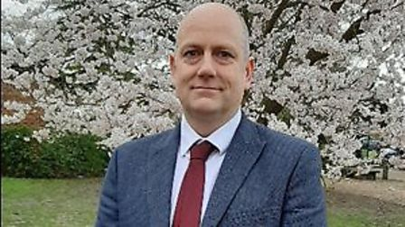 Simon Warburton (pictured) is the new principal at Ely College. Picture: Supplied