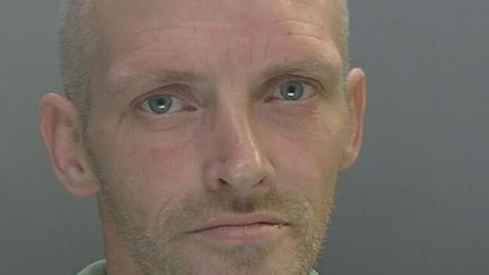 Thomas Smith, of no fixed abode, has been jailed after police found his DNA at the scene of a crime.