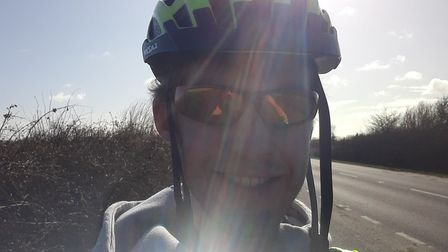 Ollie Wright (pictured) along with friend Katie will cycle from Ely to Downham Market in aid of char