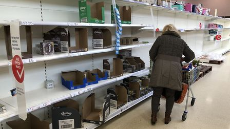 One shopper has slammed empty shelf claims and says her local store is 'well stocked'. Picture: For