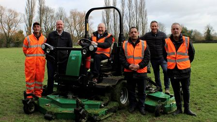 Parks and open spaces across the Fens will be cut, strimmed and trimmed this year as part of the cou