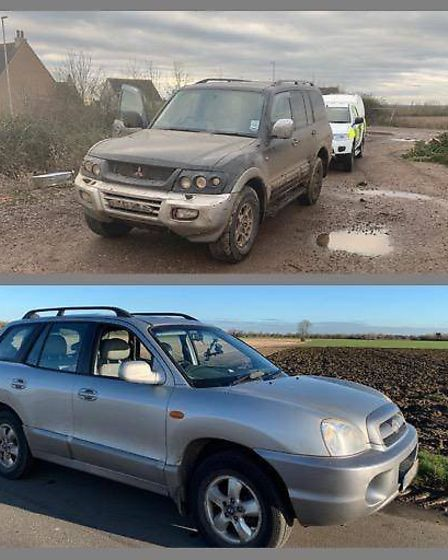 Cambridgeshire's Rural Crime Action Team has chosen their top cars seized from hare coursers across