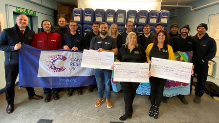 Soham-based family business Witham Oil & Paint raise £10,000 for charities at annual fundraier. The