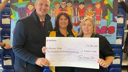 Soham-based family business Witham Oil & Paint raise £10,000 for charities at annual fundraier. Mana