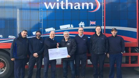 Soham-based family business Witham Oil & Paint raise £10,000 for charities at annual fundraier. Cheq