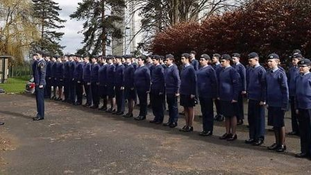 Ely air cadets have won their place in a national air training corps competition. Pictures: FACEBOOK