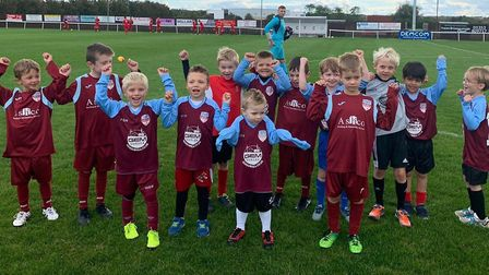 The Ely City Crusaders under 7s squad. Picture: ELY CITY CRUSADERS