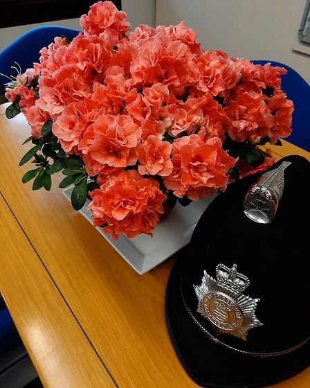 Scotdale's delivered these plants to Ely police station