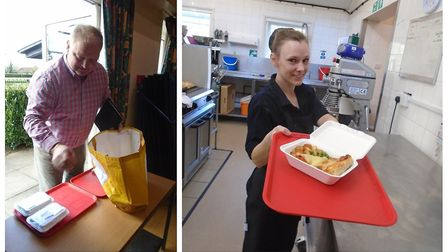 In Stretham a community effort is ensuring meals get delivered to those in need