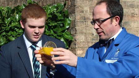Students and staff from King's Ely took part in a feast of activities to celebrate British Science W