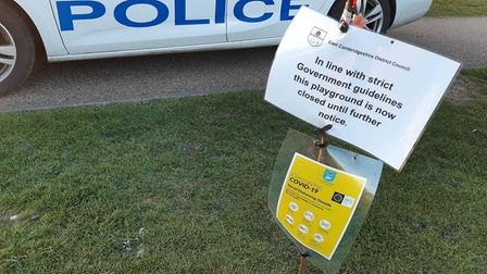 East Cambs Police moved on a family enjoying a picnic in Ely during the coronavirus lockdown