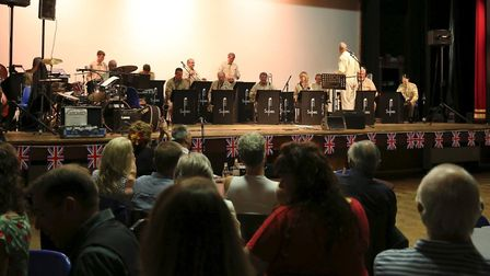 The Opus 17 band were due to perform in Isleham to mark 75 years since VE Day. Picture: ERIC GRANT