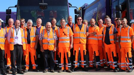 Fenland District Council?s waste and recycling crews have received waves of appreciation from reside