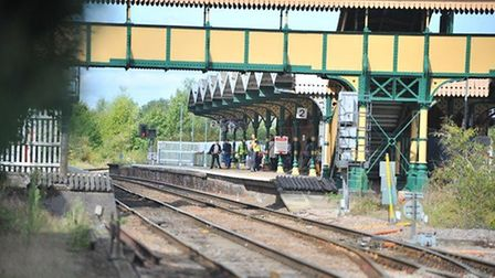 Network Rail is appealing for former signallers to help in Cambridgeshire. Pictured is March Railway