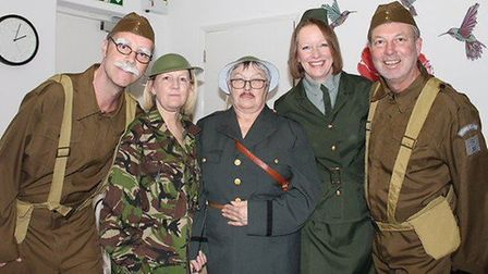 Members of the team at The Gables Care Home in Chatteris. Picture: SUPPLIED