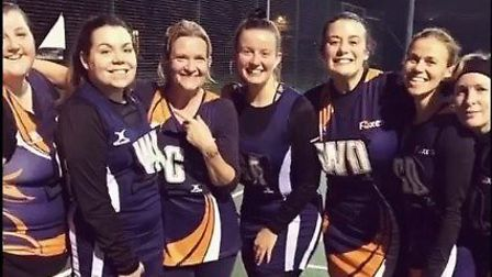 Players from Chatteris Netball Club are keeping fit during the coronavirus pandemic as they took par