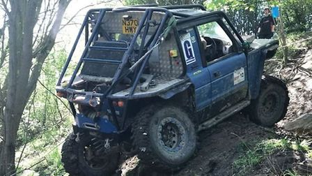 Neil has received support from the off-roading community after the accident. Picture: FAMILY