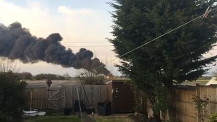 Fire crews on the scene of a massive fire in Littleport Picture: Donald Bissett