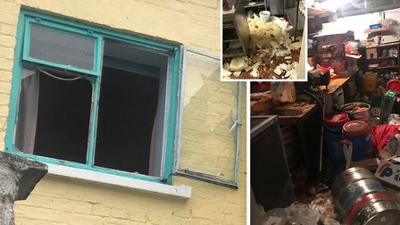 Owners of the Gurkha Indian restaurant in Dartford Road, March, today found it had been broken into