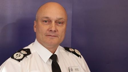 Chief Constable Nick Dean has urged the public to stay at home over the Easter weekend. Picture: ARC