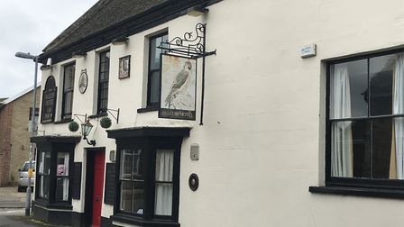 The Falcon Hotel on London Street in Whittlesey. Picture: Supplied